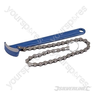 Oil Filter Chain Wrench - 150mm