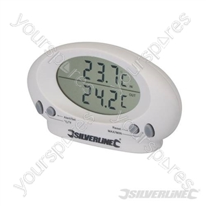 Indoor/Outdoor Thermometer - -50°C to +70°C