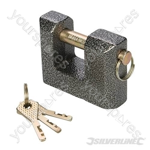 Cast Iron Shutter Lock - 80mm