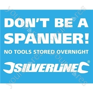 Vehicle Window Stickers - Don't be a Spanner' 10pk