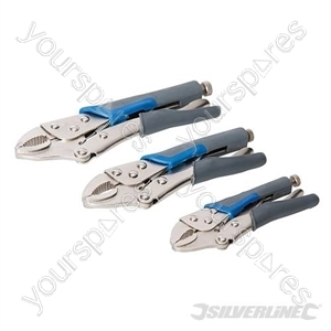 Self Locking Soft-Grip Plier Set 3pce - 3pce