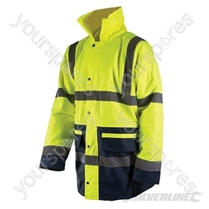 "Hi-Vis Two-Tone Jacket Class 3 - XL 108-116cm (42-46"")"