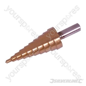 Titanium-Coated HSS Step Drill - 4 - 22mm