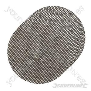 Hook & Loop Mesh Disc Sheets 115mm 10pk - 4 x 40G, 4 x 80G, 2 x 120G