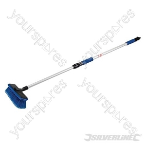 Telescopic Car Cleaning Brush - 1.07 - 1.76m