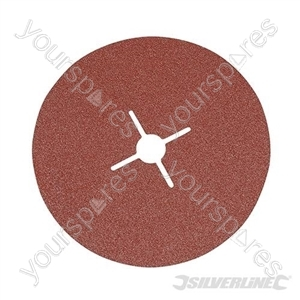 Fibre Discs 180 x 22.23mm 10pk - 60 Grit