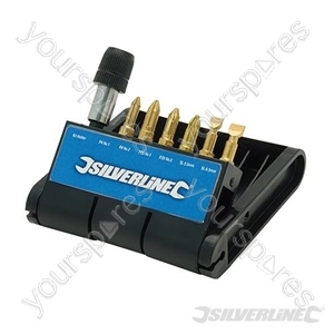 Diamond Screwdriver Bit-Bank 7pce - 7pce