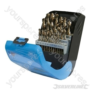 Cobalt Drill Bit Set 25pce - 1 - 13mm