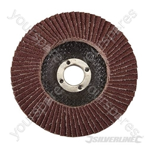 Aluminium Oxide Flap Disc - 100mm 80 Grit