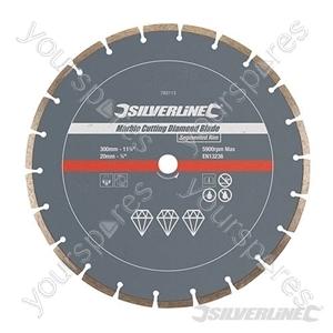 Marble Cutting Diamond Blade - 300 x 20mm Segmented Rim