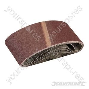 Sanding Belts 65 x 410mm 5pk - 80 Grit