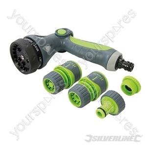 Soft-Grip Spray Gun Quick Connect Set 5pce - 5pce