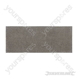 Mesh Sheets 115 x 280mm 10pk - 80 Grit