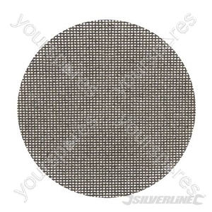 Hook & Loop Mesh Discs 225mm 10pk - 120 Grit