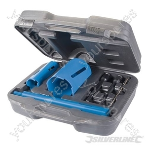 Diamond Core Drill Kit 3-Core 7pce - 28, 52 & 107mm
