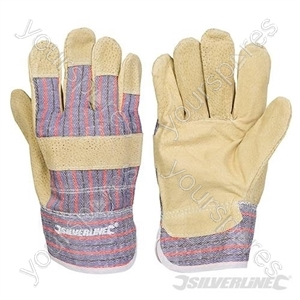 Pigskin Rigger Gloves - Large