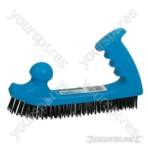 Wire Brush Jumbo Easy Grip - 200 x 50mm