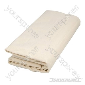 Premium Coated Dust Sheet - 3.6 x 2.4m  (12' x 9') Approx