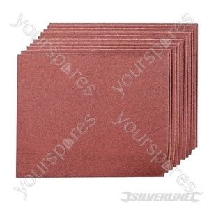 Emery Cloth Sheets 10pk - 80 Grit