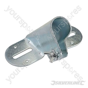 "Broom Handle Bracket Metal - 26 - 29mm  (1-1/8"") Dia"