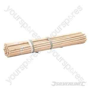 "Broom Handles - 4' x 15/16"" Dia 50pce"