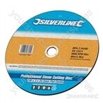 Heavy Duty Stone Cutting Disc Flat - 115 x 3 x 22.2mm