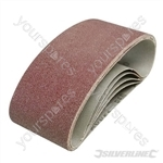 Sanding Belts 75 x 457mm 5pk - 60 Grit