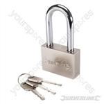Steel Padlock Long Shackle - 60mm