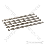 Metric HSS-R Long Series Bits 5pk - 6.5 x 148mm