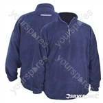 "Silverline 1/4 Zip Fleece Top - L 112cm (44"")"