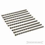Masonry Drill Bits 10pk - 7.0 x 120mm