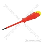 Insulated Soft-Grip Screwdriver Slotted - 2.5 x 75mm