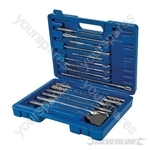 SDS Plus Masonry Drill & Steel Set 15pce - 15pce