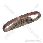 Sanding Belts 13 x 457mm 5pk - 60 Grit