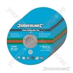 Stone Cutting Discs Flat 10pk - 115 x 3 x 22.23mm