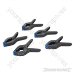 Spring Clamps 5pk - 160mm Jaw