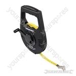 Geared Surveyors Tape - 100m