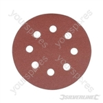 Hook & Loop Discs Punched 115mm 10pk - 240 Grit