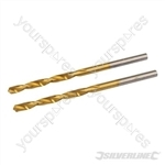 HSS Titanium-Coated Drill Bits 2pk - 3.2mm