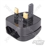 EU to UK Converter Plugs - CEE 7/16