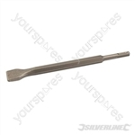 SDS Plus Hex Flat TCT Chisel - 30 x 250mm