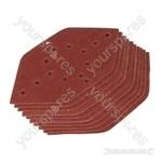 Hook & Loop Detailed Point Sanding Sheets 10pk - 40 Grit