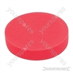 Hook & Loop Foam Polishing Head - 180mm Ultra-Soft Red