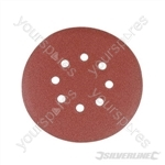 Hook & Loop Discs Punched 150mm 10pk - 40 Grit