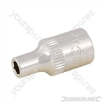 "Socket 1/4"" Drive Metric - 4mm"