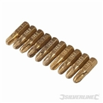 Phillips Diamond Screwdriver Bits 10pk - PH3