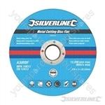 Metal Cutting Discs Flat 10pk - 125 x 3 x 22.23mm