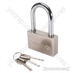 Steel Padlock Long Shackle - 70mm