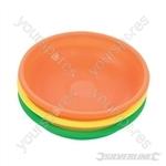 Magnetic Hi-Vis Part Trays 150mm - 3pce
