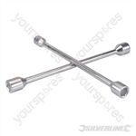 Cross Wrench - 17, 19, 21 & 23mm
